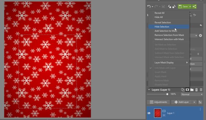 hide photo tags christmas