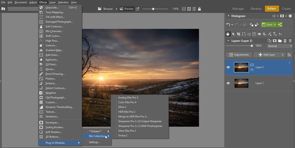 Make Your Zoner Photo Studio Even Better with Plugins - effects