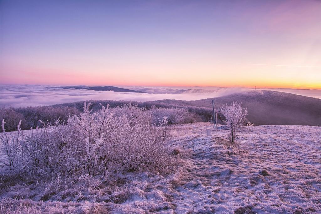 Winter Outdoor Photography - Javorina inversion