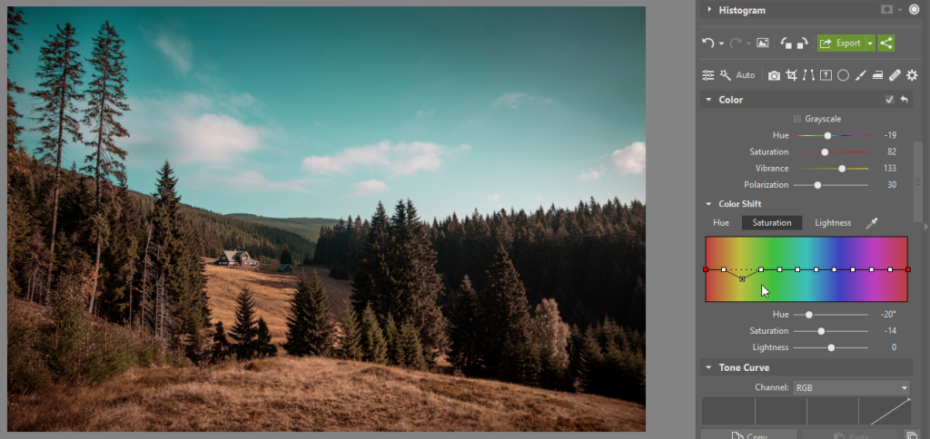 How Can You Edit Photos Faster While Keeping Your Own Style - saturation
