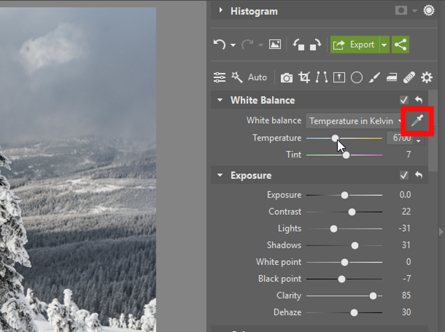 Add Pizazz to Your Winter Photos - temperature