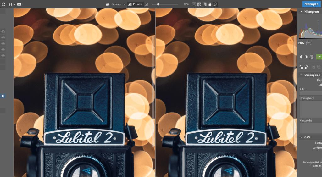 How to Import Photos - comparison