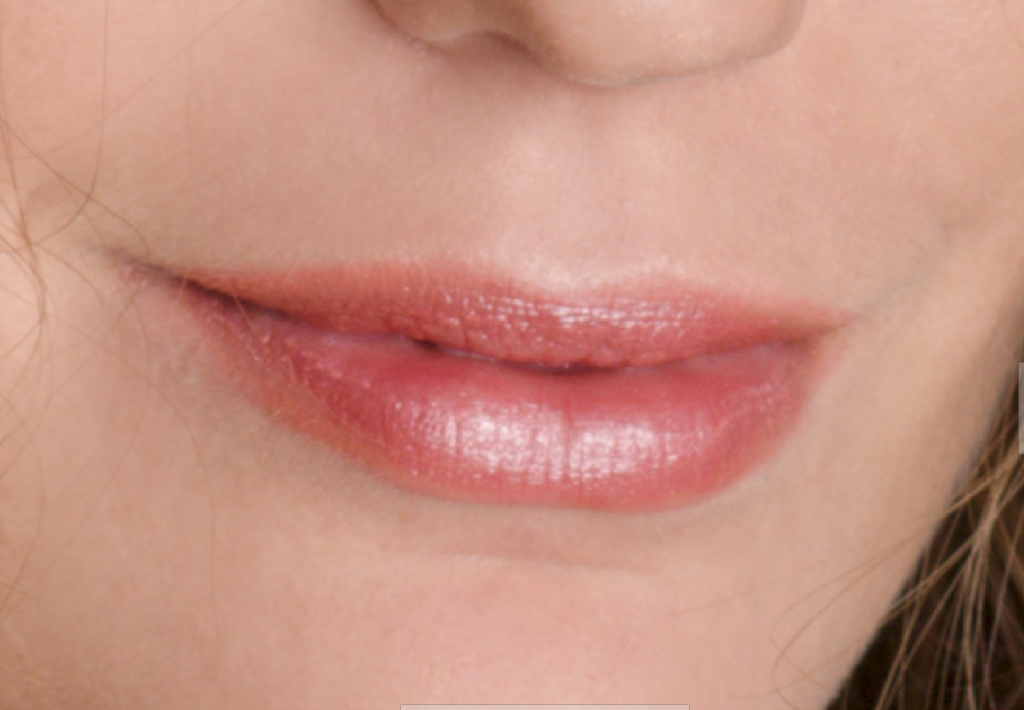 Learn to Retouch Portraits - lips after edits