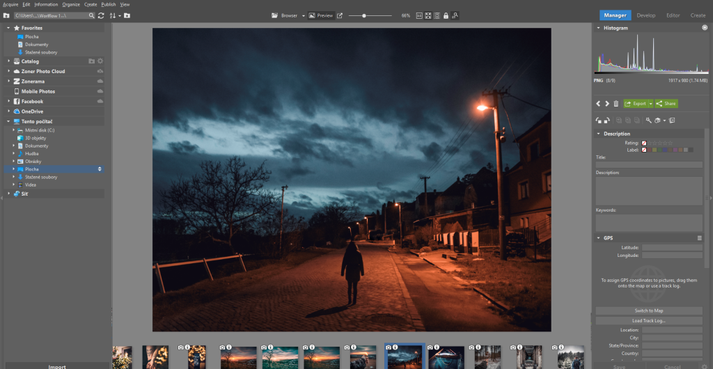 How to Import Photos - layout