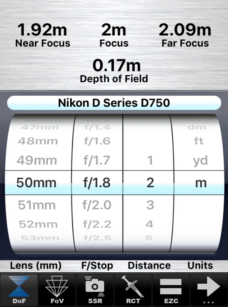 DOF Calculator or SetMyCamera will calculate what areas will be sharp.
