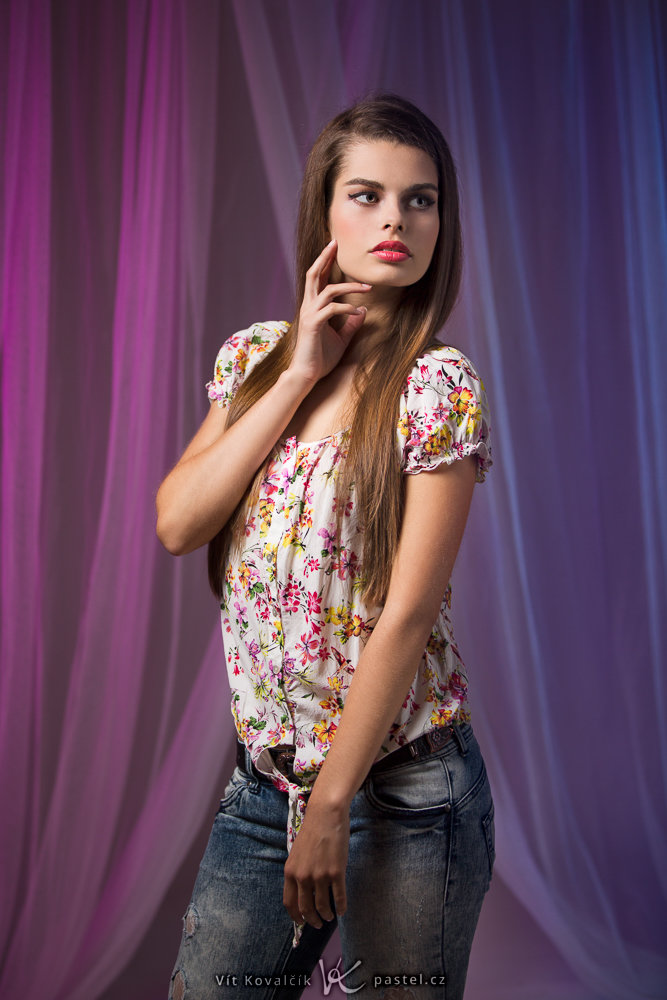 Studio Photography - color background