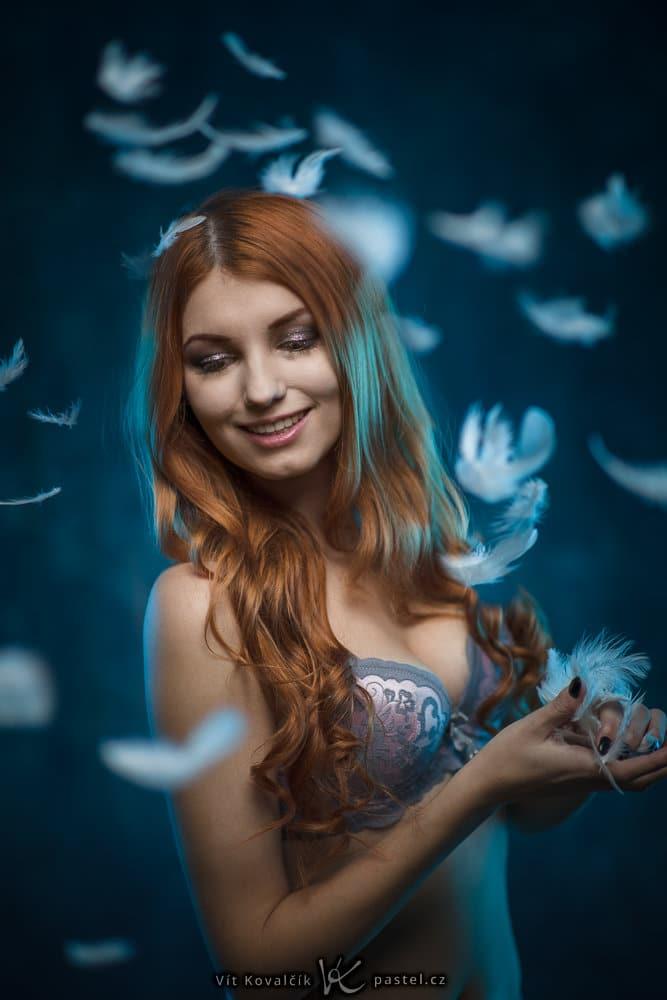 Studio Photography - feathers
