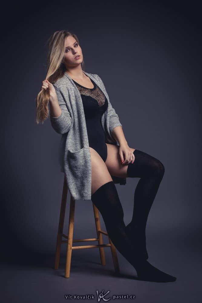 Studio Photography - footstool