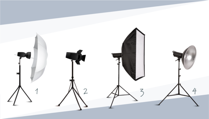 Infographic] Working With Studio Lights I: Which Light(s