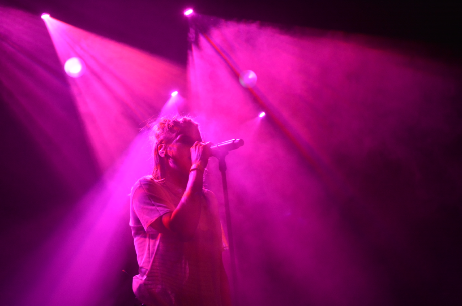 How to Photograph Concerts - violet color, Skyline