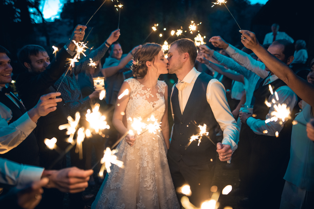 What Should You Take to Weddings - sparklers