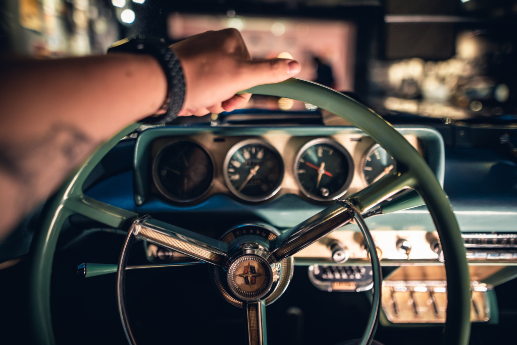 How to Photograph Vintage Cars - close up