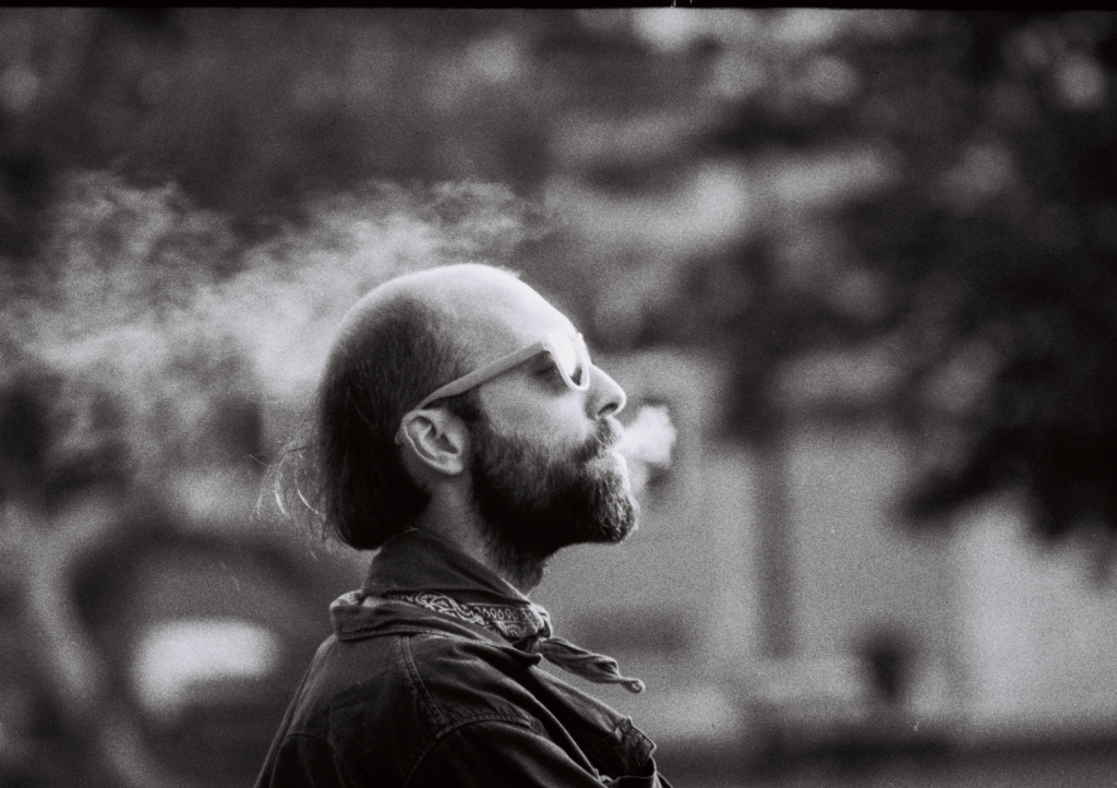 How Do You Get Started With Film Photography - portrait with smoke