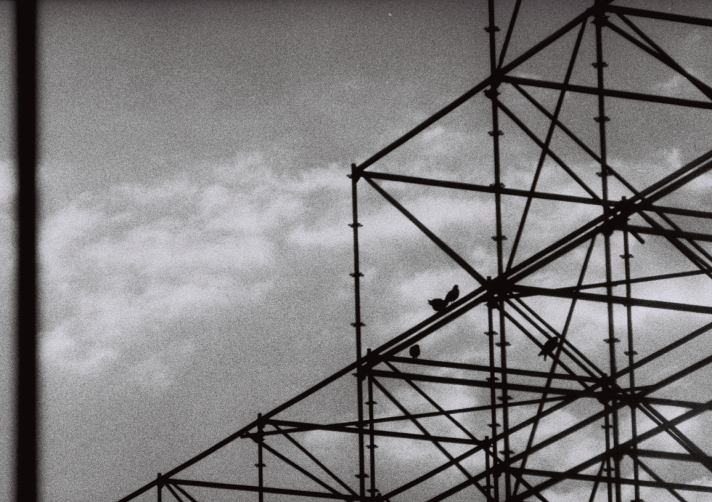 How Do You Get Started With Film Photography - scaffolding