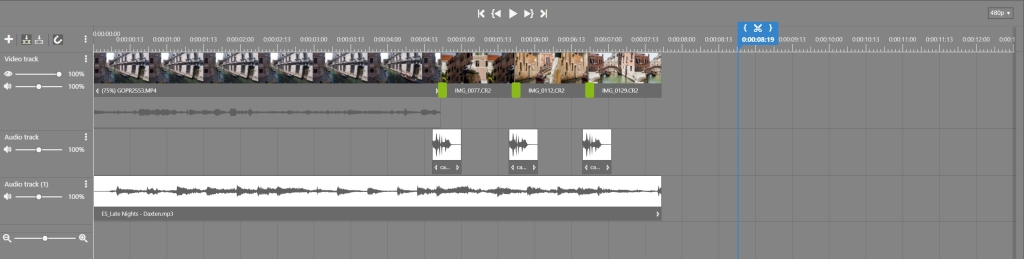 Creating Videos in ZPS X - shutter effect