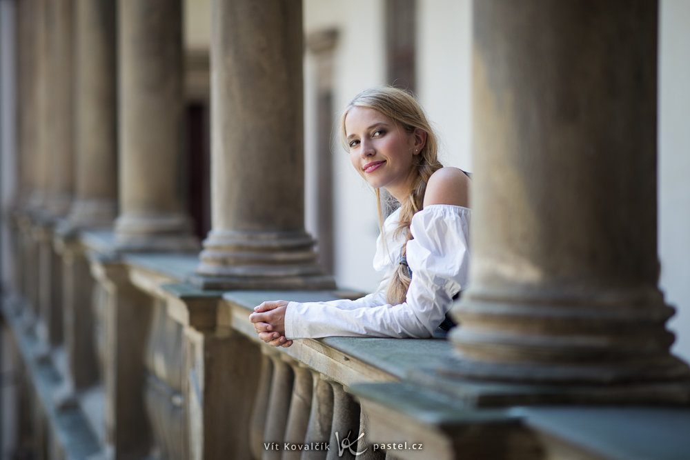 Foundations of Portrait Composition Part II - woman in white dress