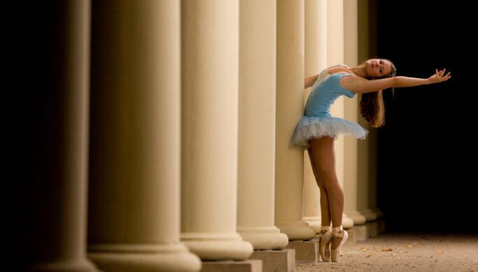 Foundations of Portrait Composition Part II - ballet dancer