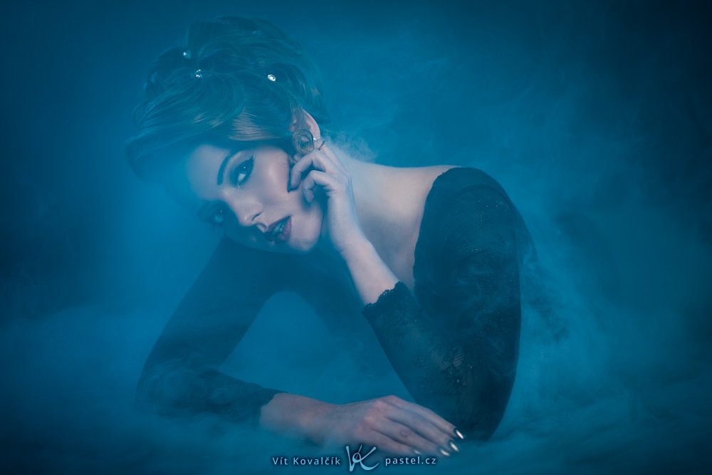 Foundations of Portrait Composition Part II - woman in mist