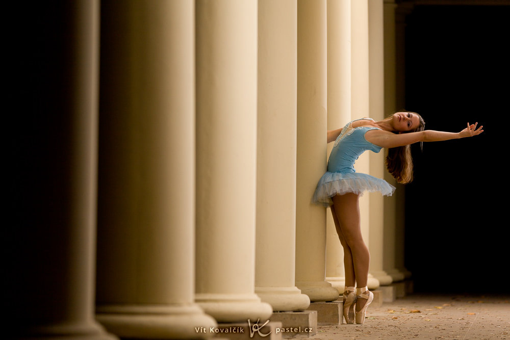Foundations of Portrait Composition Part II - ballet dancer