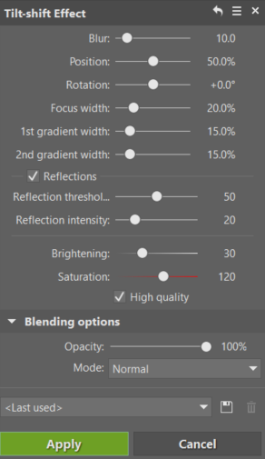 Make It Miniature With the Tilt-shift Effect