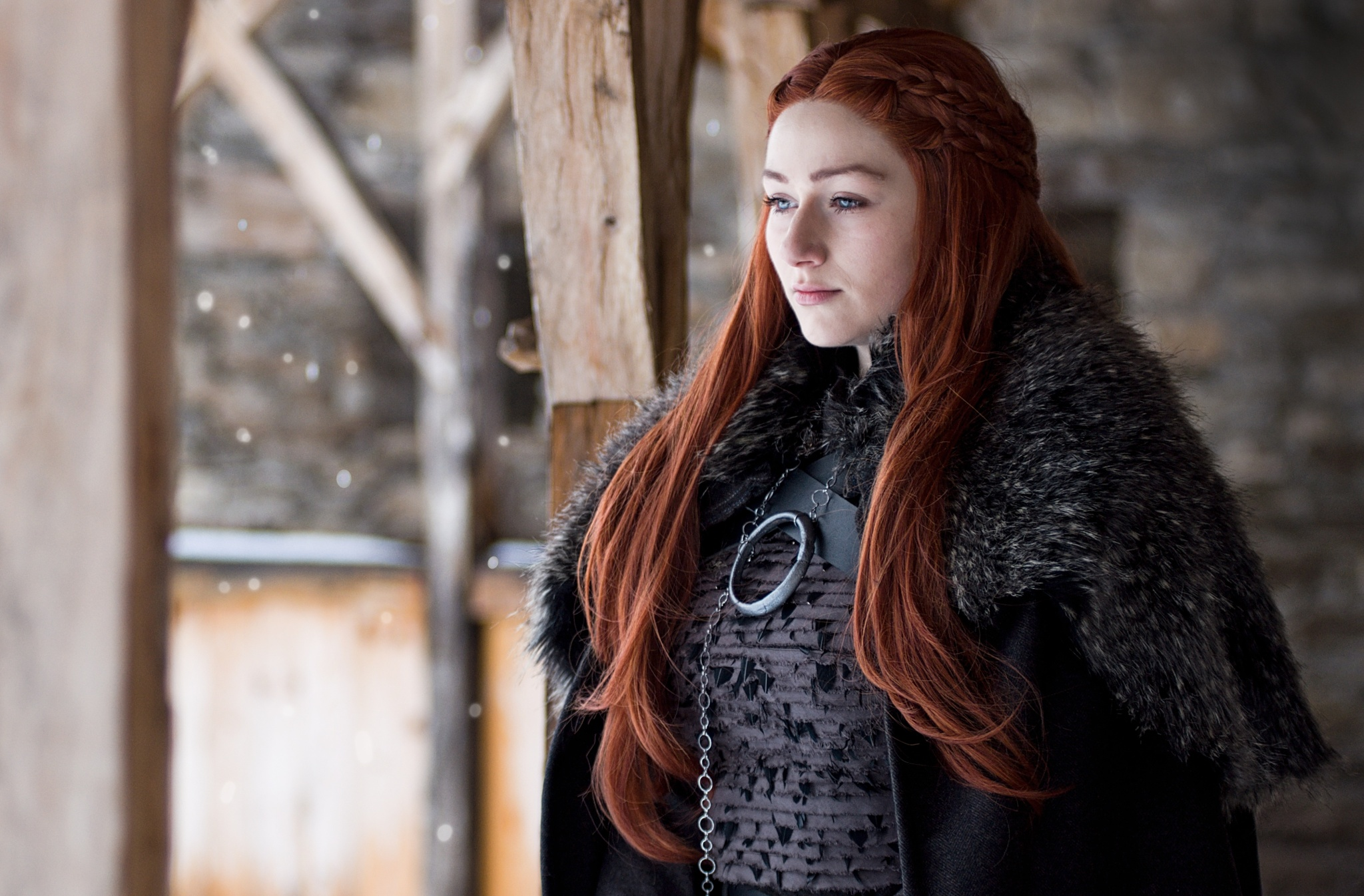 How to Photograph a Cosplay - Sansa cosplay