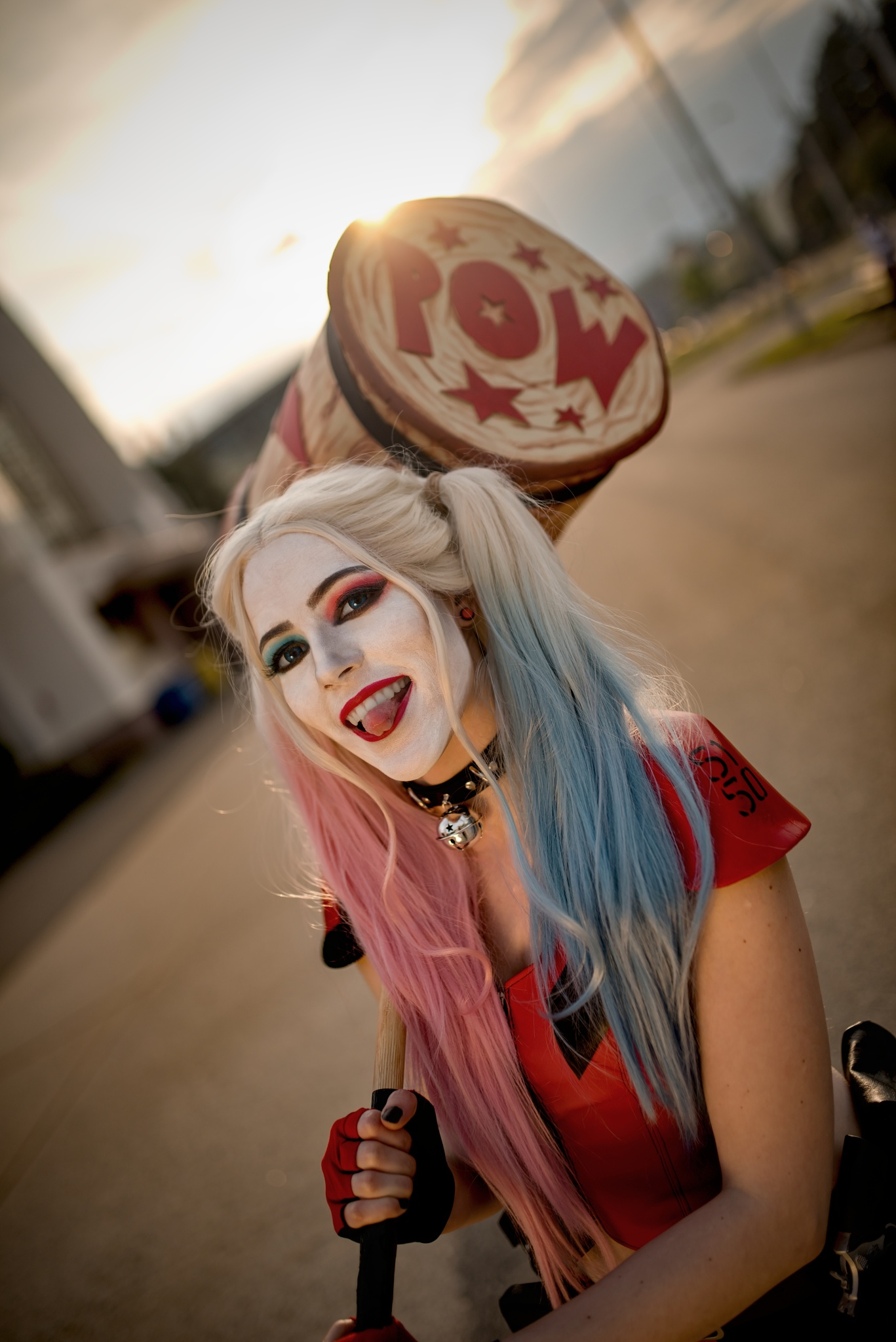 How to Photograph a Cosplay - Harley Quinn cosplay
