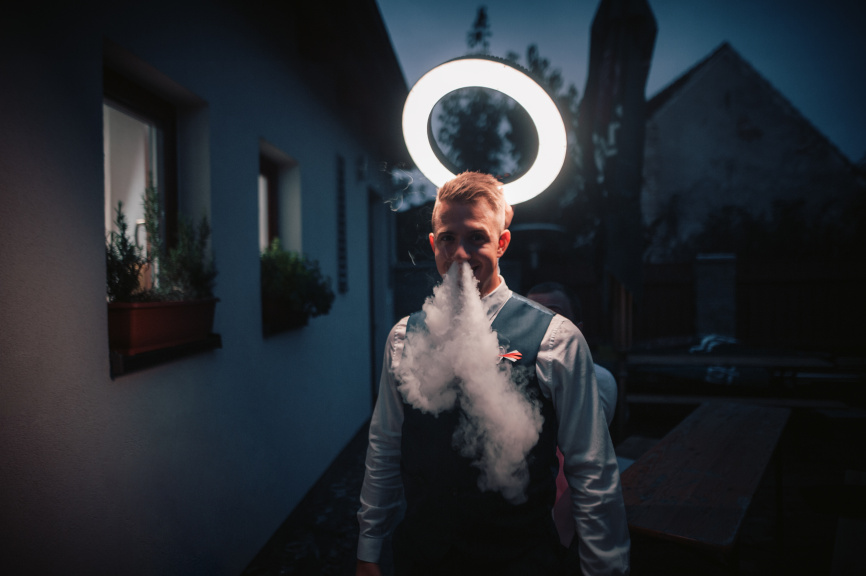 Portraits With an LED Ring Light - halo