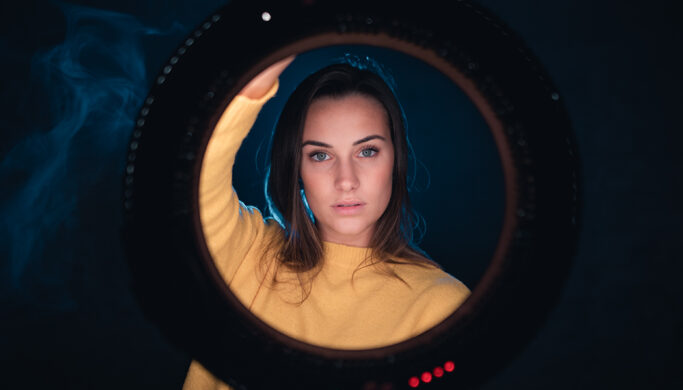 Portraits With An Led Ring Light Great