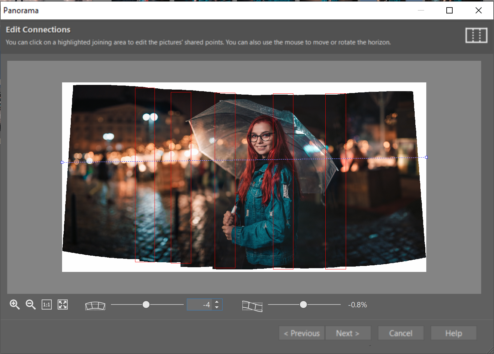How Can You Get Stronger Bokeh? - producing panorama in ZPS
