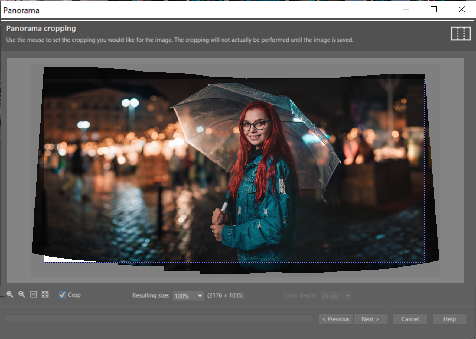 How Can You Get Stronger Bokeh? - forming panorama in ZPS