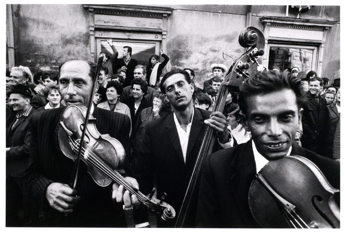 World-renowned Wanderer Josef Koudelka - gypsies