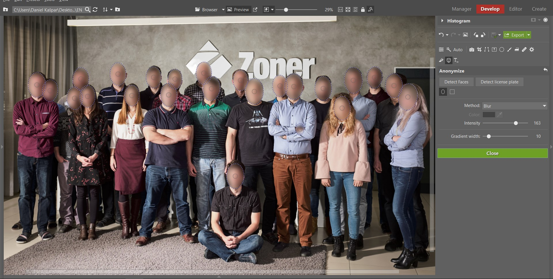 How to Hide Faces and License Plates: Learn to Use Anonymization