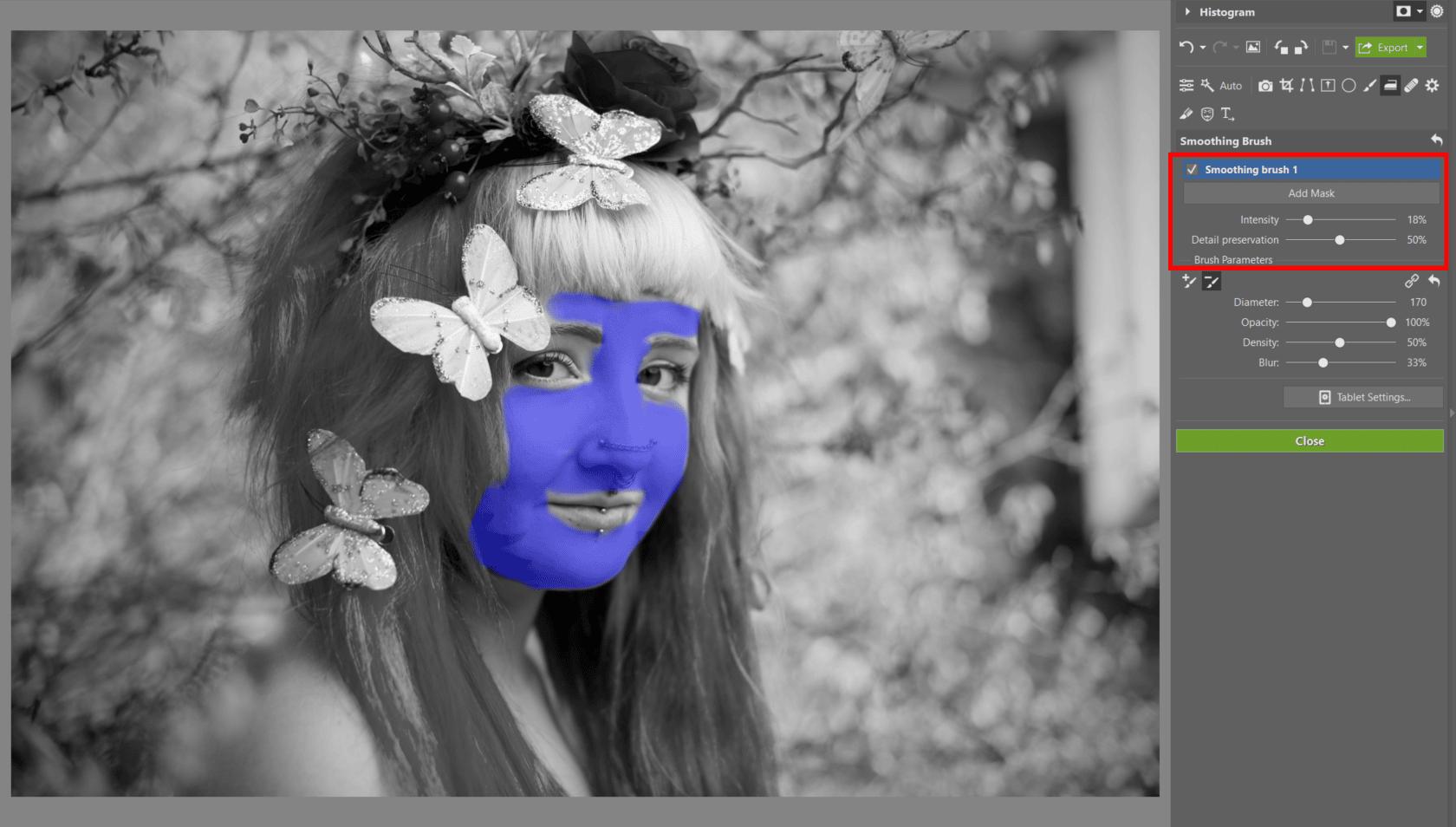 Spring Portrait Editing I: The Develop Module