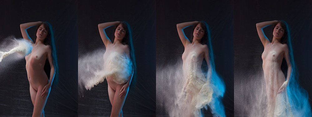 Using Powders in Nude Photography