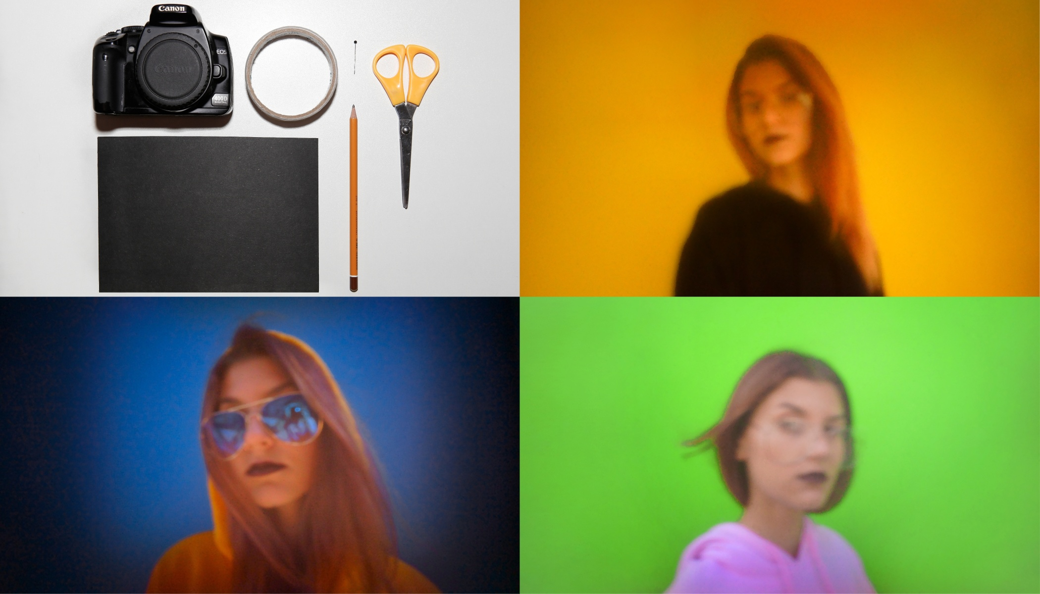 """How to Create Your Own """"Camera Obscura"""" Pinhole Camera and Take Crazy Color Portraits"""