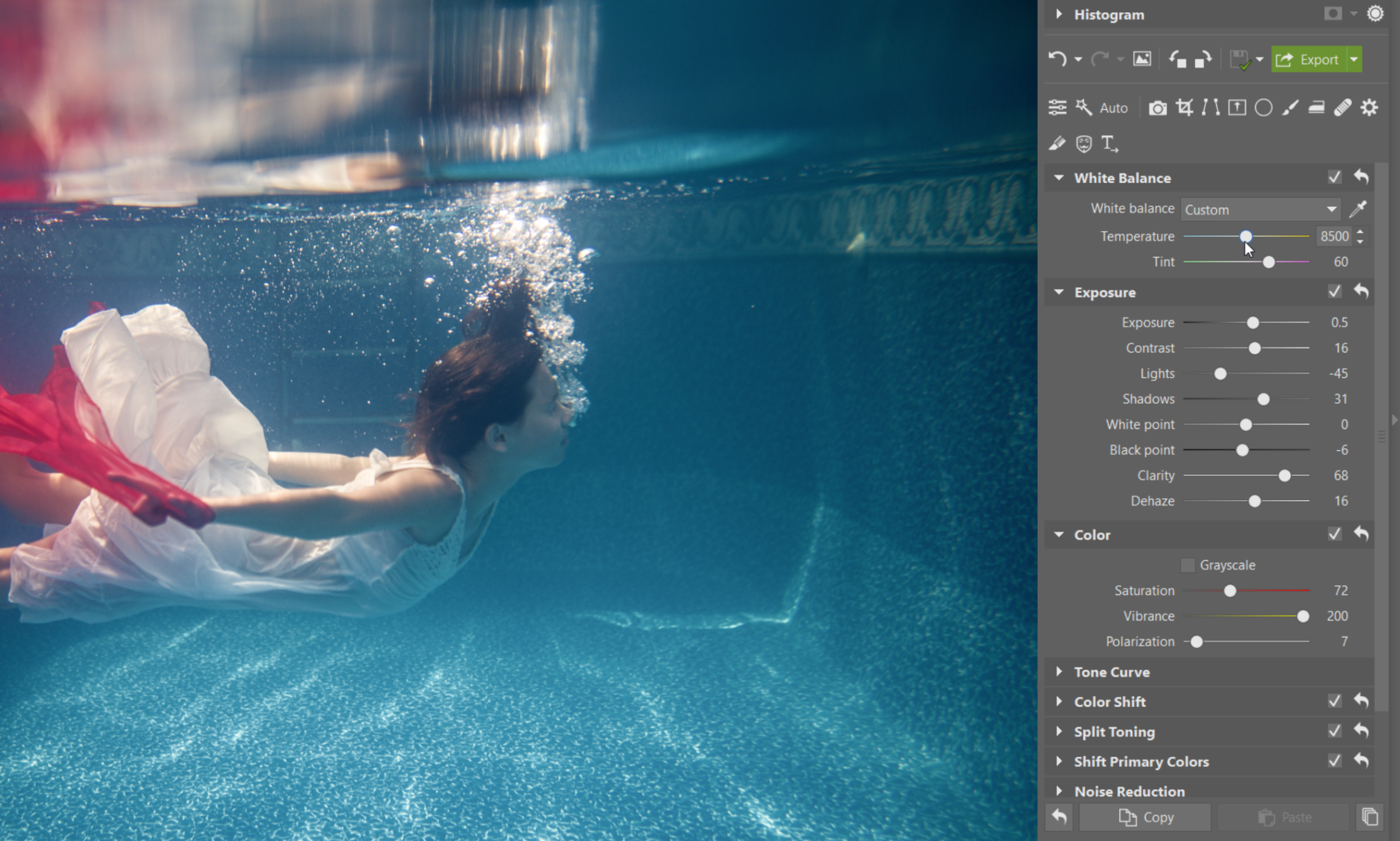 How to Brighten up Your Underwater Photos