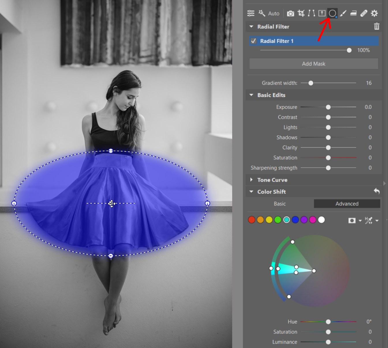 Color Shift: Now for Local Edits Too! Introducing Local Color Shift and Curves Editing