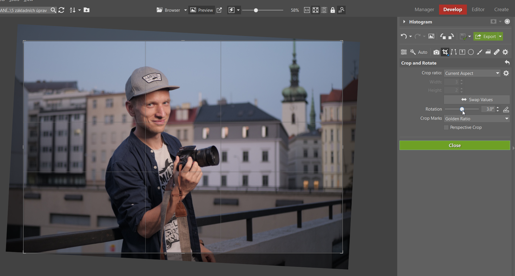 5 basic edits to improve your photography