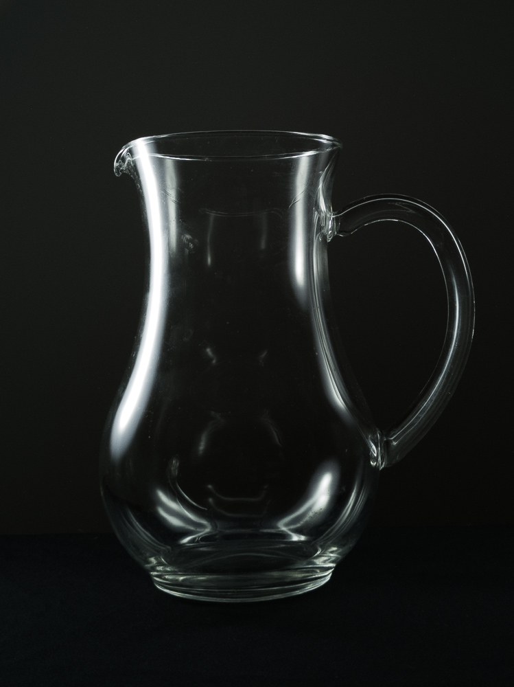 Glass photography at home