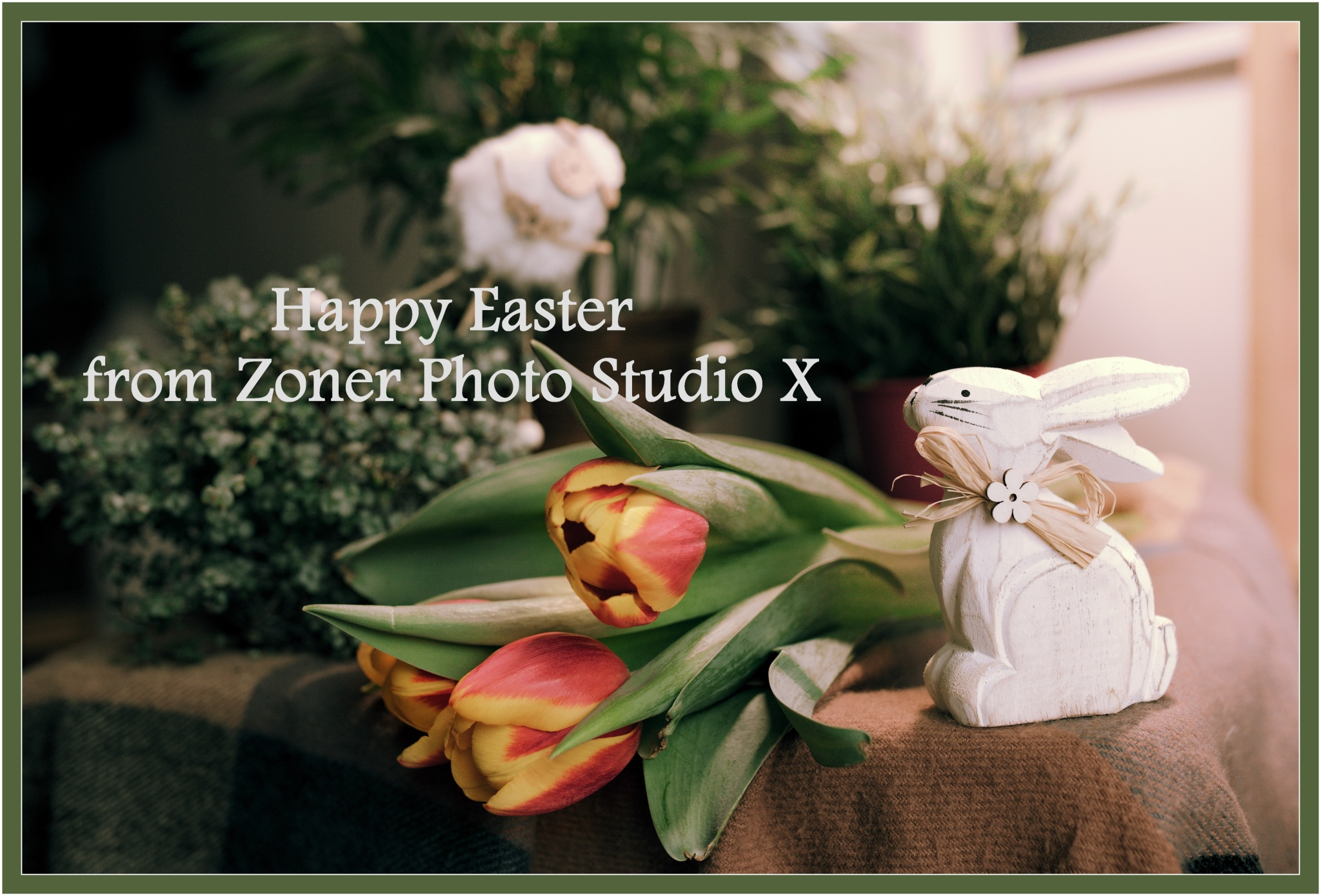 Make an Easter Greeting Card with Your Own Photos