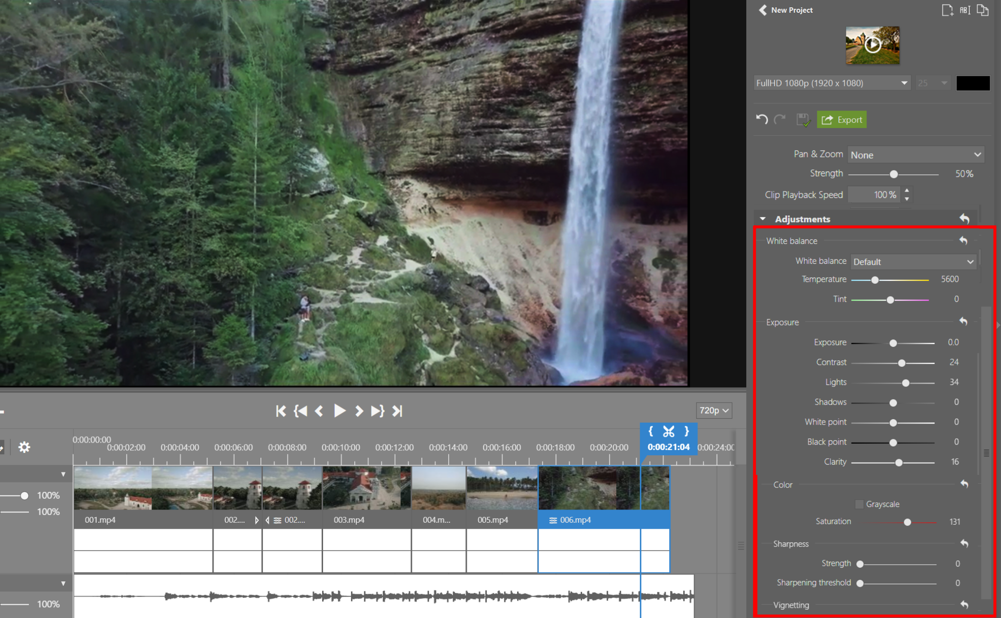 Improved video editing in ZPS X: Edit your videos quickly and easily like a pro