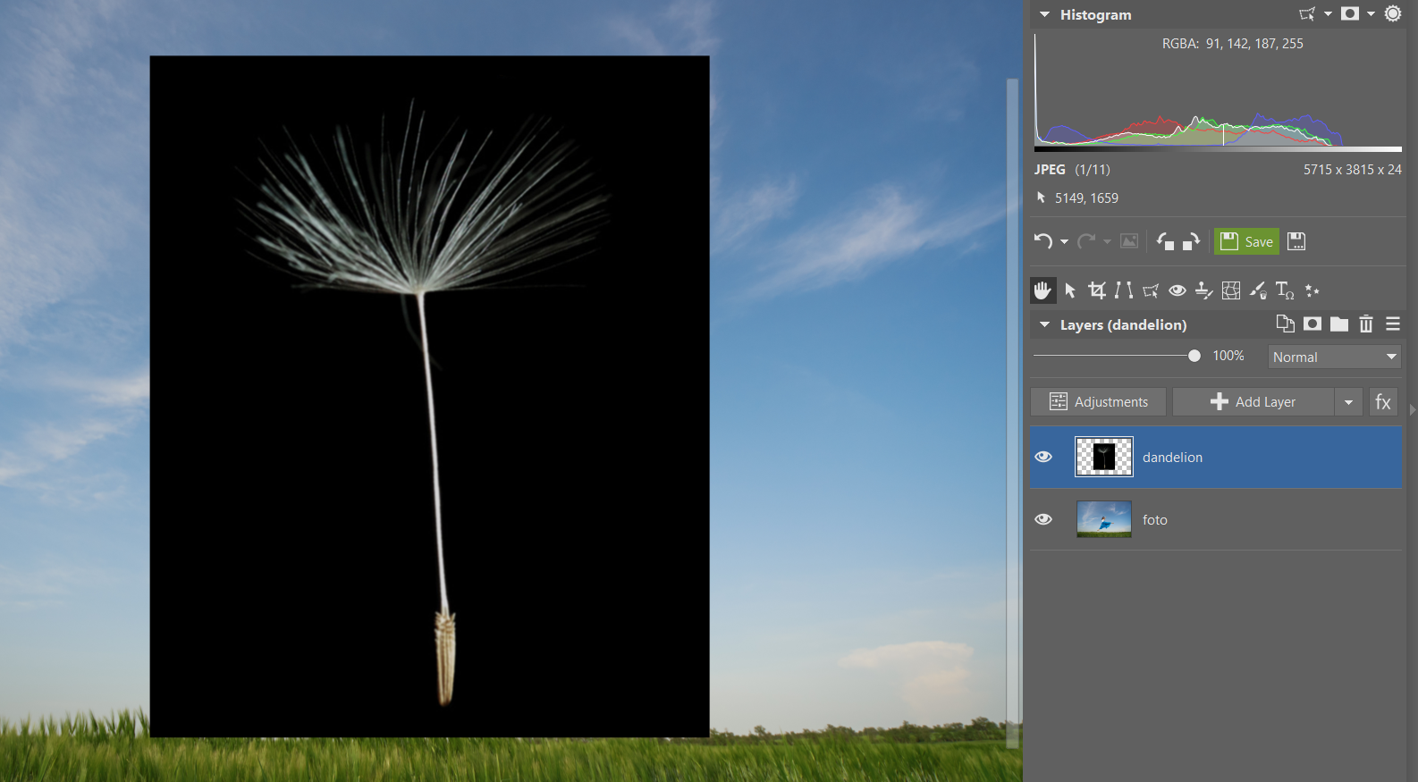 A Cheerful Spring Photo Montage – Practice Working with Layers