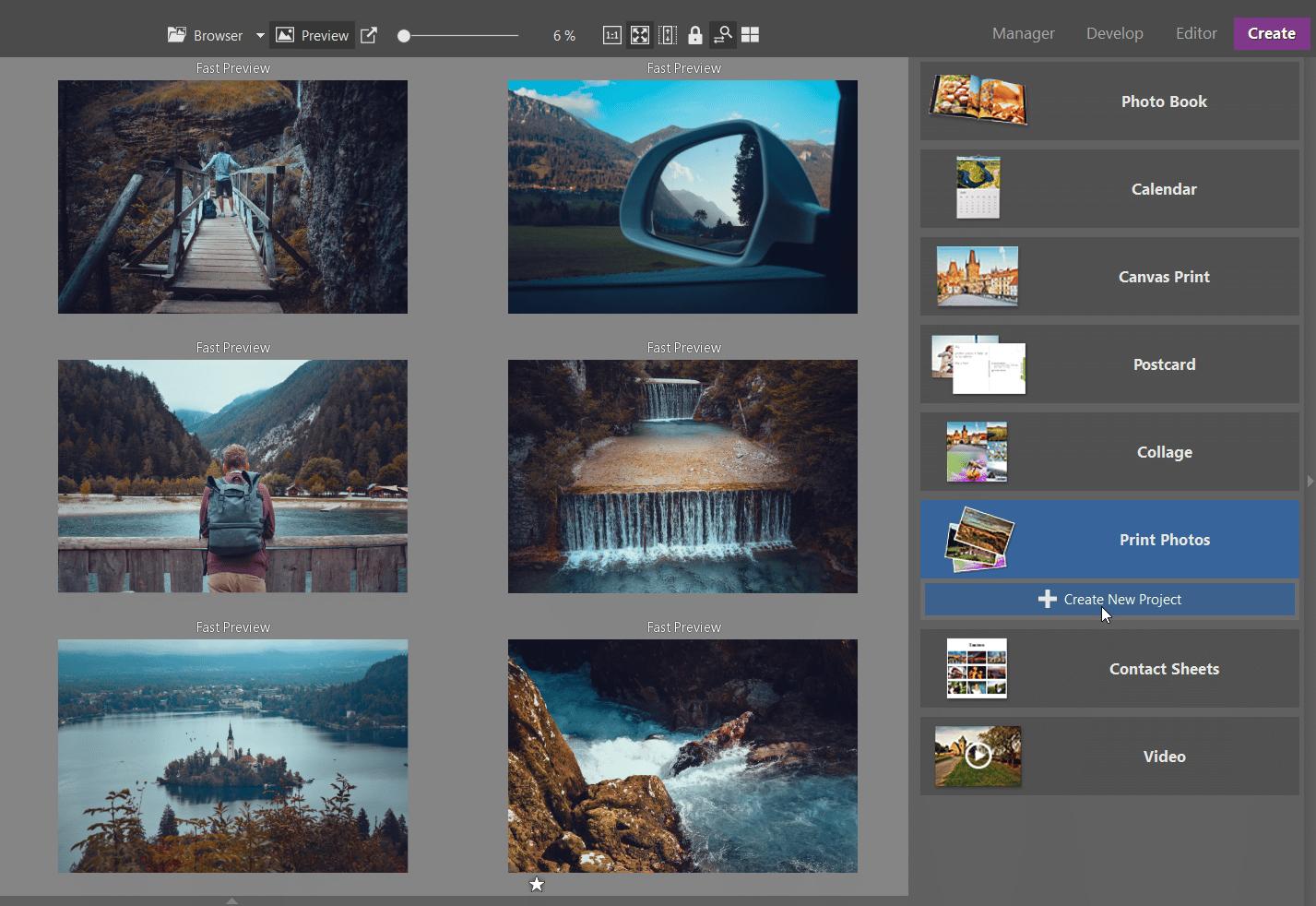 Looking to Order Prints Online? Order Prints Right in Zoner Photo Studio X