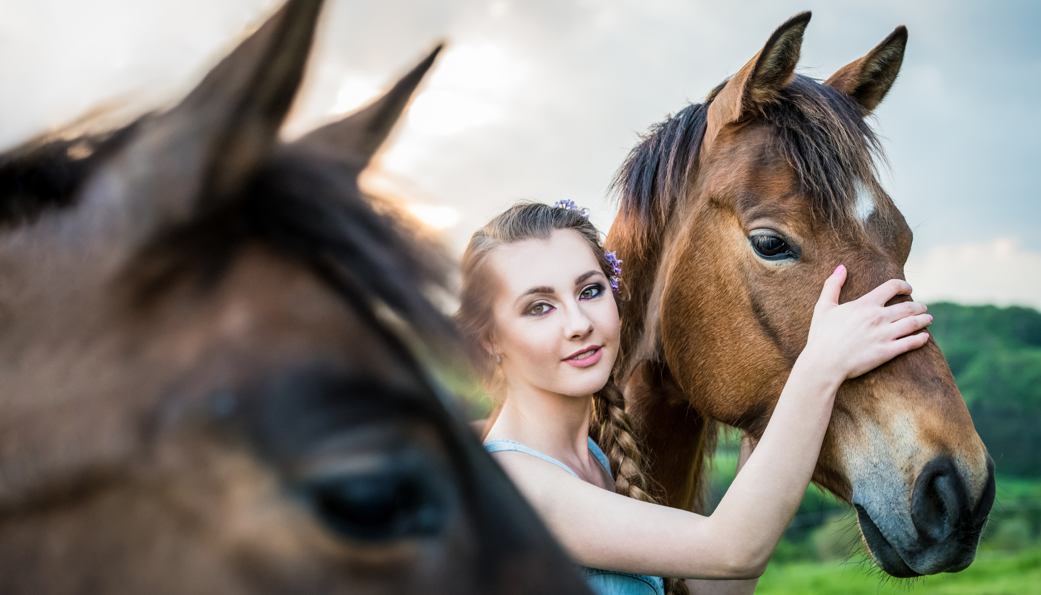 How to Take Portraits with Horses