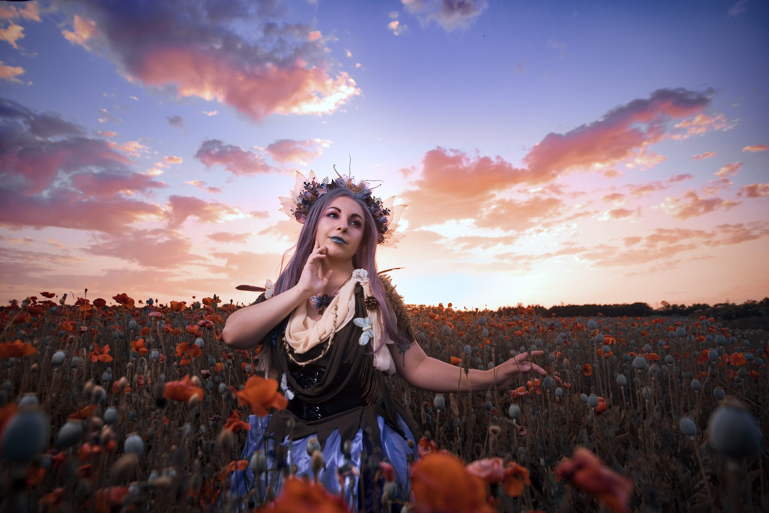 Tips for Taking and Editing Portraits Against a Bright Sky